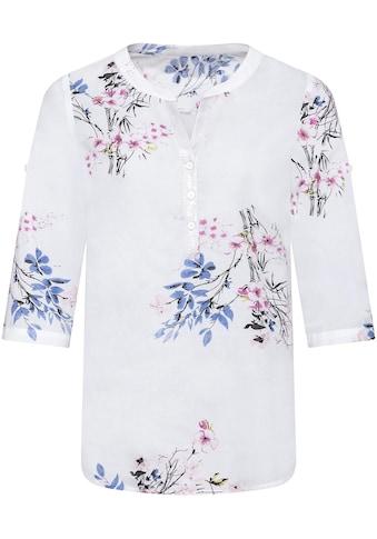 Classic Basics Bluse im floralen Dessin kaufen