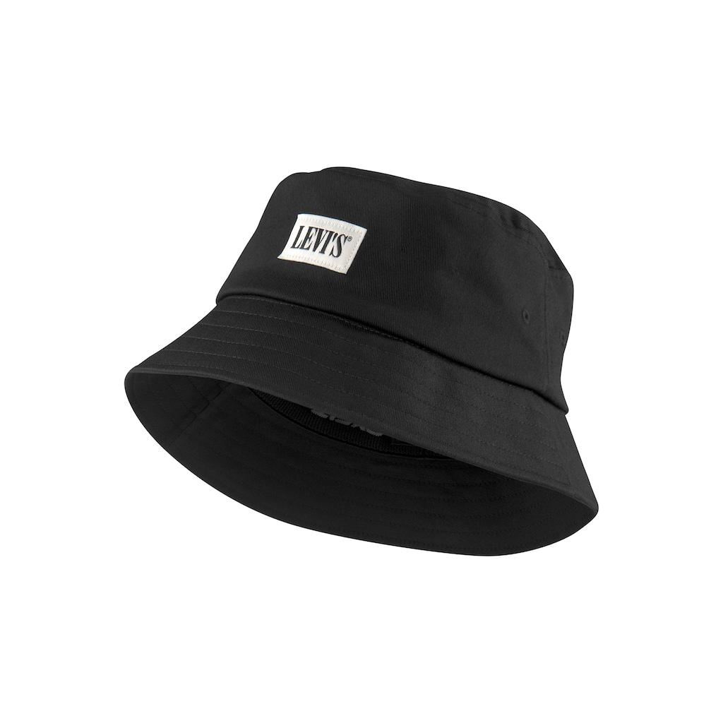 Levi's® Fischerhut, REVERSIBLE SERIF BUCKET HAT