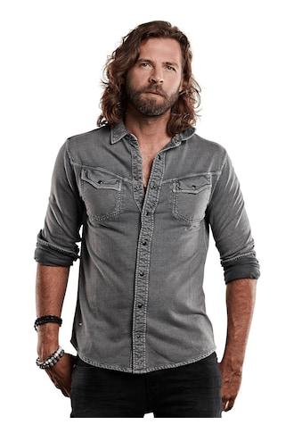 emilio adani Hemd aus Sweat kaufen