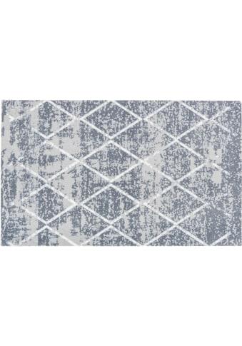 ASTRA Fussmatte »Miabella 1669«, rechteckig, 7 mm Höhe, Fussabstreifer, Fussabtreter, Schmutzfangläufer, Schmutzfangmatte, Schmutzfangteppich, Schmutzmatte, Türmatte, Türvorleger, Rauten Design, In -und Outdoor geeignet kaufen