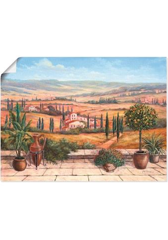 Artland Wandbild »Terrasse« kaufen
