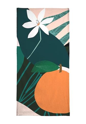 """Handtuch """"Orange"""", Juniqe kaufen"""