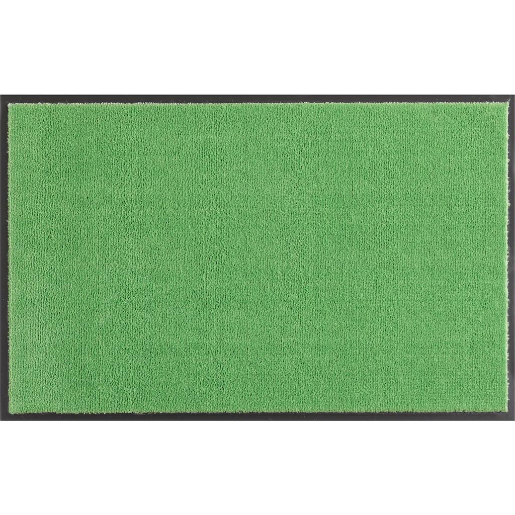 HANSE Home Fussmatte »Deko Soft«, rechteckig, 7 mm Höhe, Fussabstreifer, Fussabtreter, Schmutzfangläufer, Schmutzfangmatte, Schmutzfangteppich, Schmutzmatte, Türmatte, Türvorleger, saugfähig, waschbar
