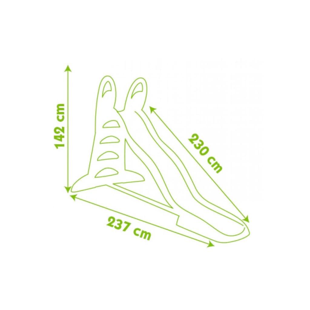 Smoby Wasserrutsche »XL Doppel-Wellen-Rutsche«
