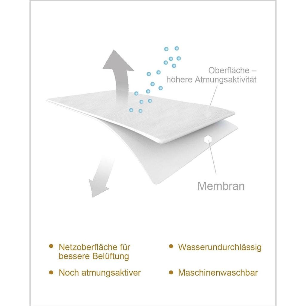 my home Matratzenauflage »Flexer«, wasserdicht, mit neuartigem atmungsaktivem 3D-Gewebe, ideal für Schwitzer
