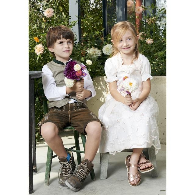 OS-Trachten Trachtenhemd Kinder mit modernem Stehkragen