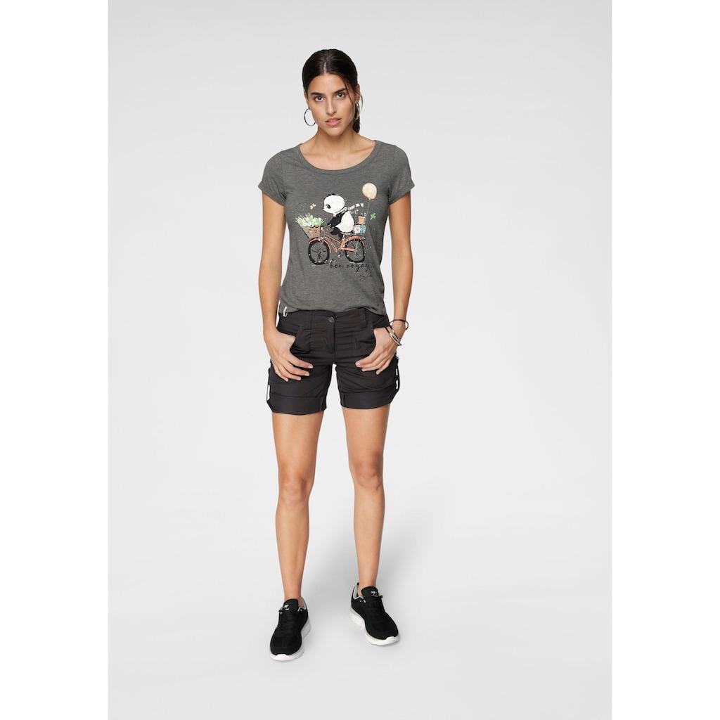 KangaROOS T-Shirt, mit liebevollem Panda-Print