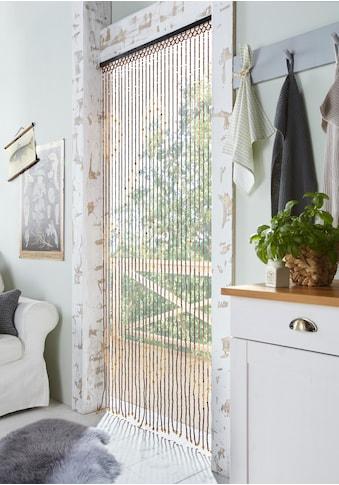 Home affaire Türvorhang »Sevilla«, mit Kreisdekor, 90x200 cm kaufen