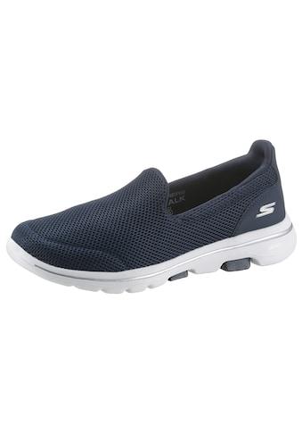 Skechers Slip-On Sneaker »Go Walk 5«, mit Air Cooled Goga Mat kaufen