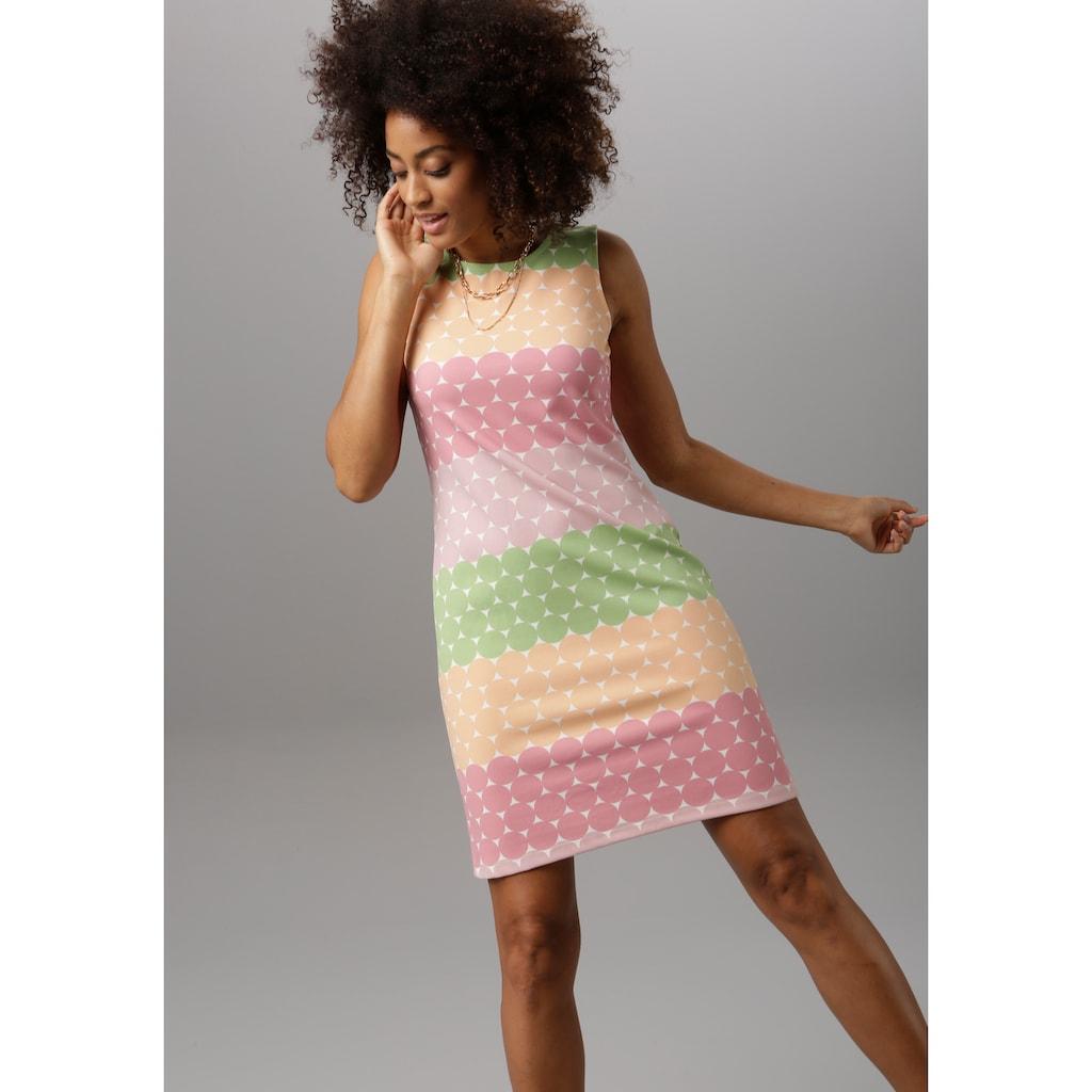 Aniston SELECTED Sommerkleid, im bunten Punkte-Dessin