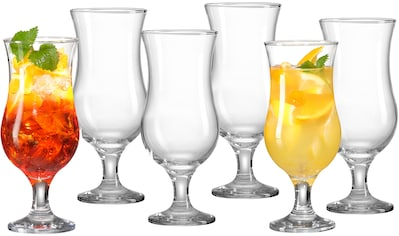 Ritzenhoff & Breker Cocktailglas »Joy«, (Set, 6 tlg., 6 Cocktailgläser, je 390 ml), Glas, 390 ml kaufen