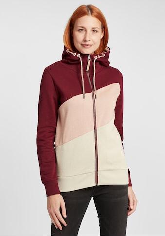 OXMO Kapuzensweatjacke »Aggi«, Sportliche Hoodie Sweatjacke mit zahlreichen Details kaufen