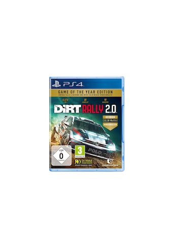 Spiel »DiRT Rally 2.0 - Game of the Year Edition«, PlayStation 4, Standard Edition kaufen