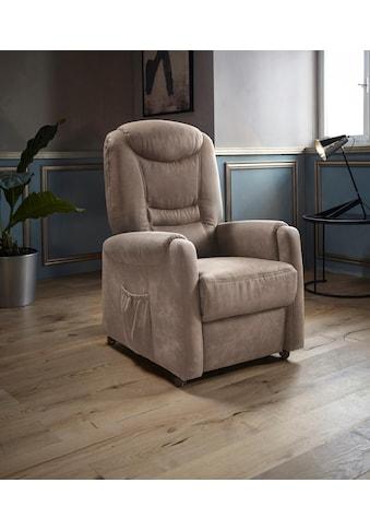 Places of Style TV-Sessel »Tamworth«, in Grösse S, wahlweise mit Motor und Aufstehhilfe kaufen