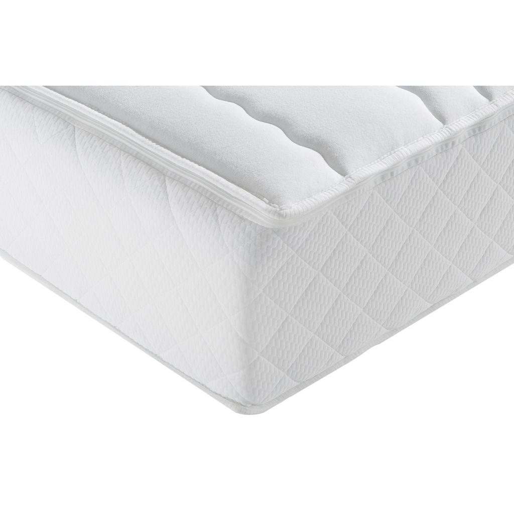 f.a.n. Schlafkomfort Taschenfederkernmatratze »ProVita Relax 1.000 T«, 30 cm cm hoch, 1034 Federn, (1 St.), mit Frottee Bezug