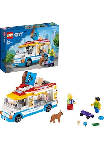 """LEGO® Konstruktionsspielsteine """"Eiswagen (60253), LEGO® City Great Vehicles"""", (200 - tlg.) kaufen"""