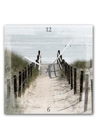 queence Wanduhr »Weg zum Strand« kaufen