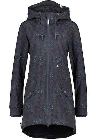Alife & Kickin Softshelljacke »AudreyAK«, sportive Übergangs-Jacke mit Alloverprint kaufen