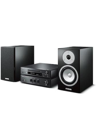 Yamaha Microanlage »MusicCast MCR-N670 DAB Schwarz«, (Bluetooth-WLAN Digitalradio... kaufen