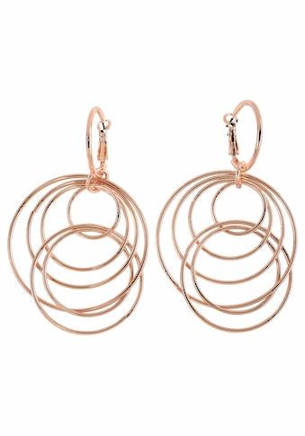 J.Jayz Paar Ohrhänger »mit beweglichen Ringen im modischen Design«, (1 tlg.), mit... kaufen