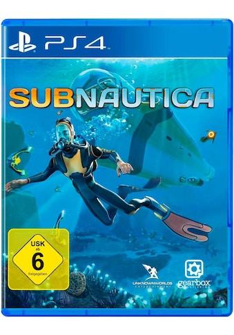 U&I Entertainment Spiel »Subnautica«, PlayStation 4 kaufen