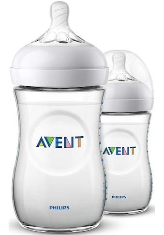 Philips AVENT Babyflasche »Natural Flasche SCF033/27«, (2er-Pack), Anti-Kolik-System kaufen