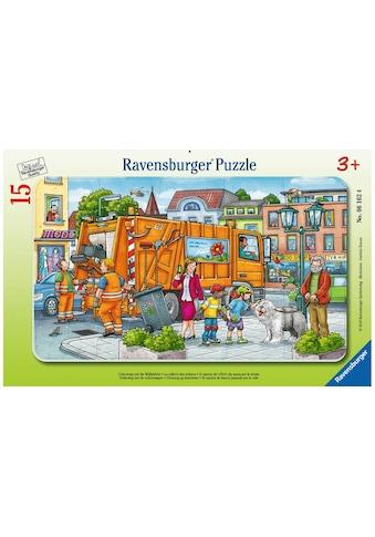 Ravensburger Puzzle »Unterwegs mit der Müllabfuhr« kaufen