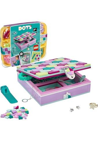 LEGO® Konstruktionsspielsteine »Schmuckbox (41915), LEGO® Dots«, (374 St.), Made in... kaufen