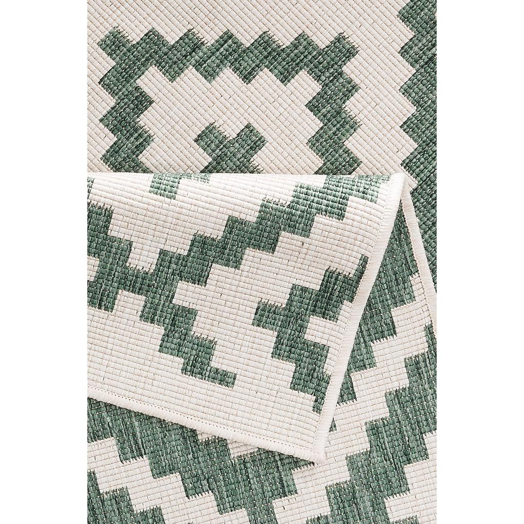 my home Teppich »Ronda«, rechteckig, 5 mm Höhe, Sisal-Optik, Wendeteppich, In- und Outdoor geeignet, Wohnzimmer