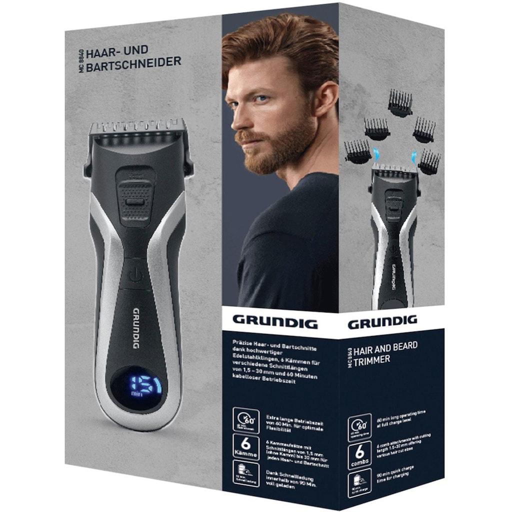 Grundig Haar- und Bartschneider »MC 8840«, 6 Aufsätze