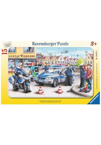 Ravensburger Puzzle »Einsatz der Polizei« kaufen