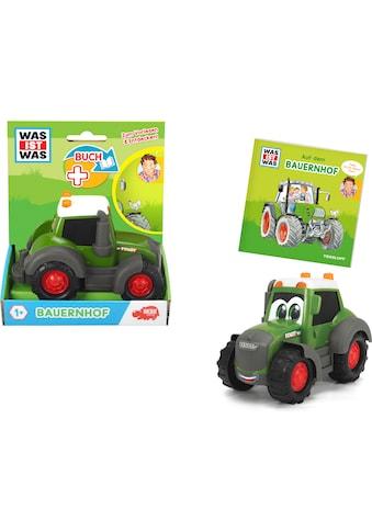 Dickie Toys Spielzeug-Traktor »Was ist Was - Bauernhof«, inkl. Buch kaufen