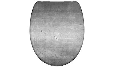 Schütte WC-Sitz »Industrial Grey«, aus Duroplast mit Absenkautomatik kaufen