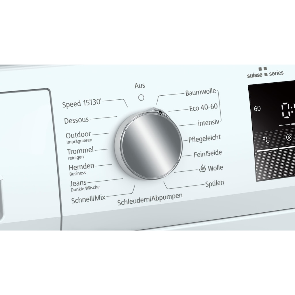 SIEMENS Waschmaschine, iQ300 A+++, 7 kg, 1200 U/min
