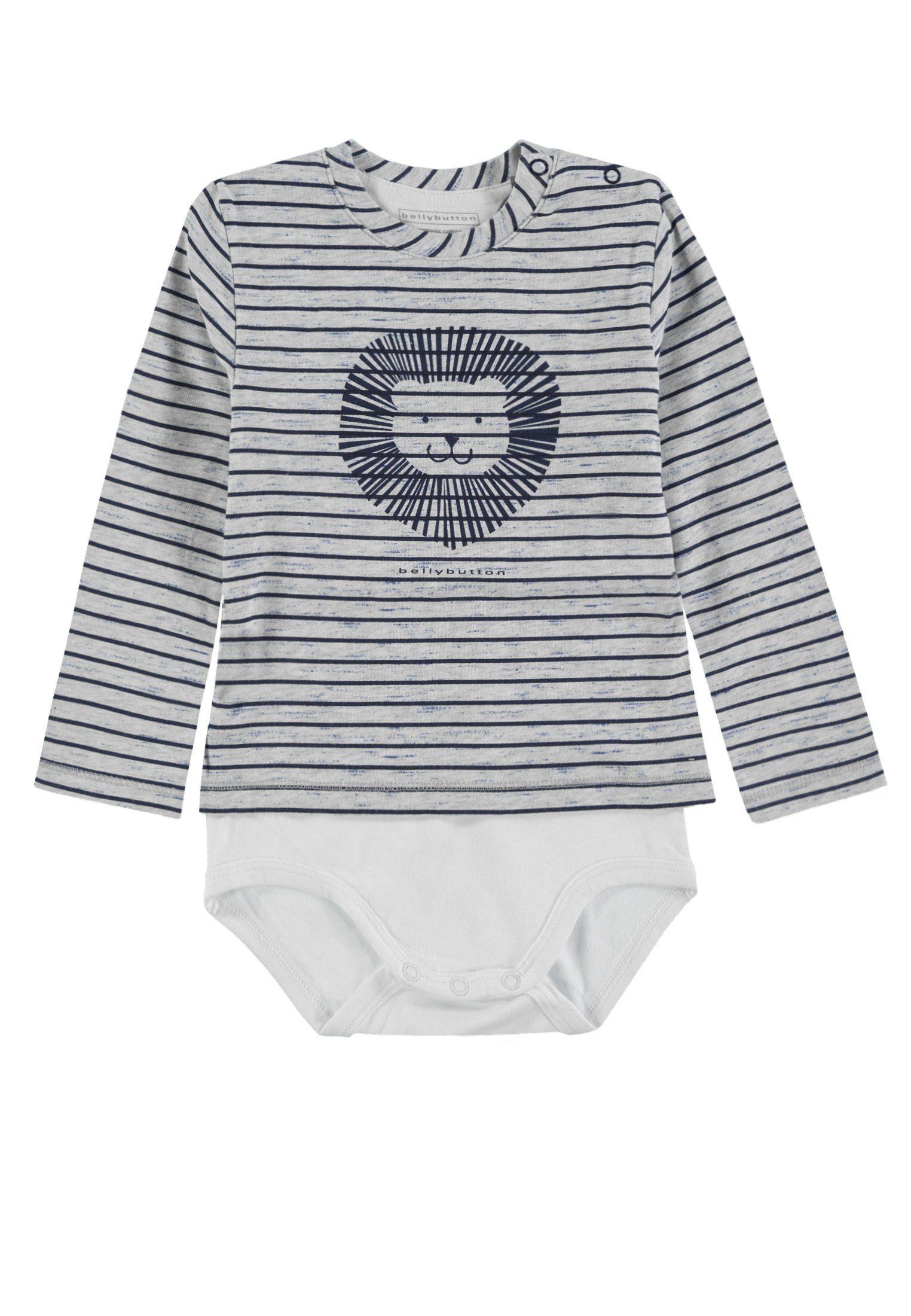 Image of Bellybutton T-Shirt Body Langarm »Löwe«