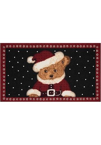 Fussmatte, »Teddybear«, HANSE Home, rechteckig, Höhe 7 mm, gedruckt kaufen