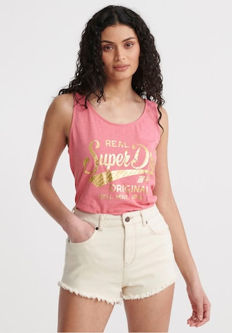 Superdry Tanktop »RO TEXT INFILL CLASSIC VEST« kaufen