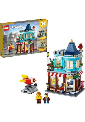 LEGO® Konstruktionsspielsteine »Spielzeugladen im Stadthaus (31105), LEGO® Creator... kaufen