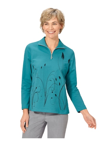 Classic Basics Winter - Shirt in filigranem, platziertem Dessin kaufen