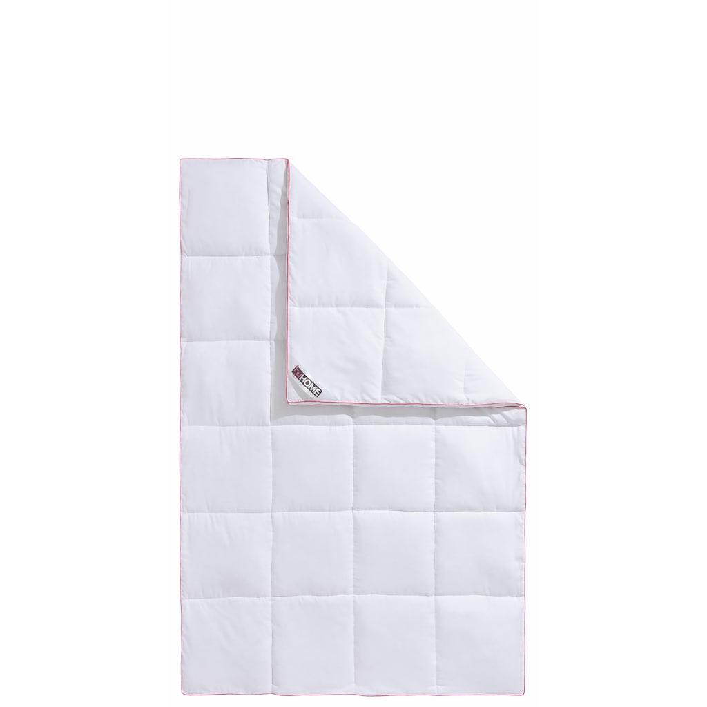 my home Microfaserbettdecke »Lissome«, warm, Bezug Polyester, (1 St.), kuscheliges, daunenähnliches Schlafgefühl