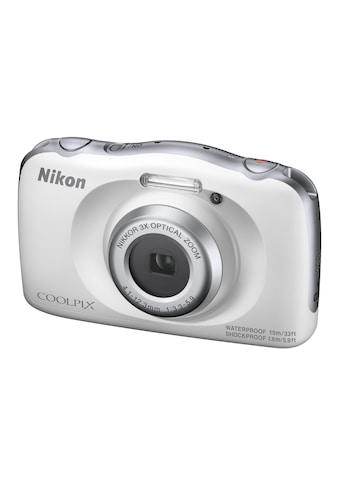 Fotokamera, Nikon, »COOLPIX W150 Weiss« kaufen