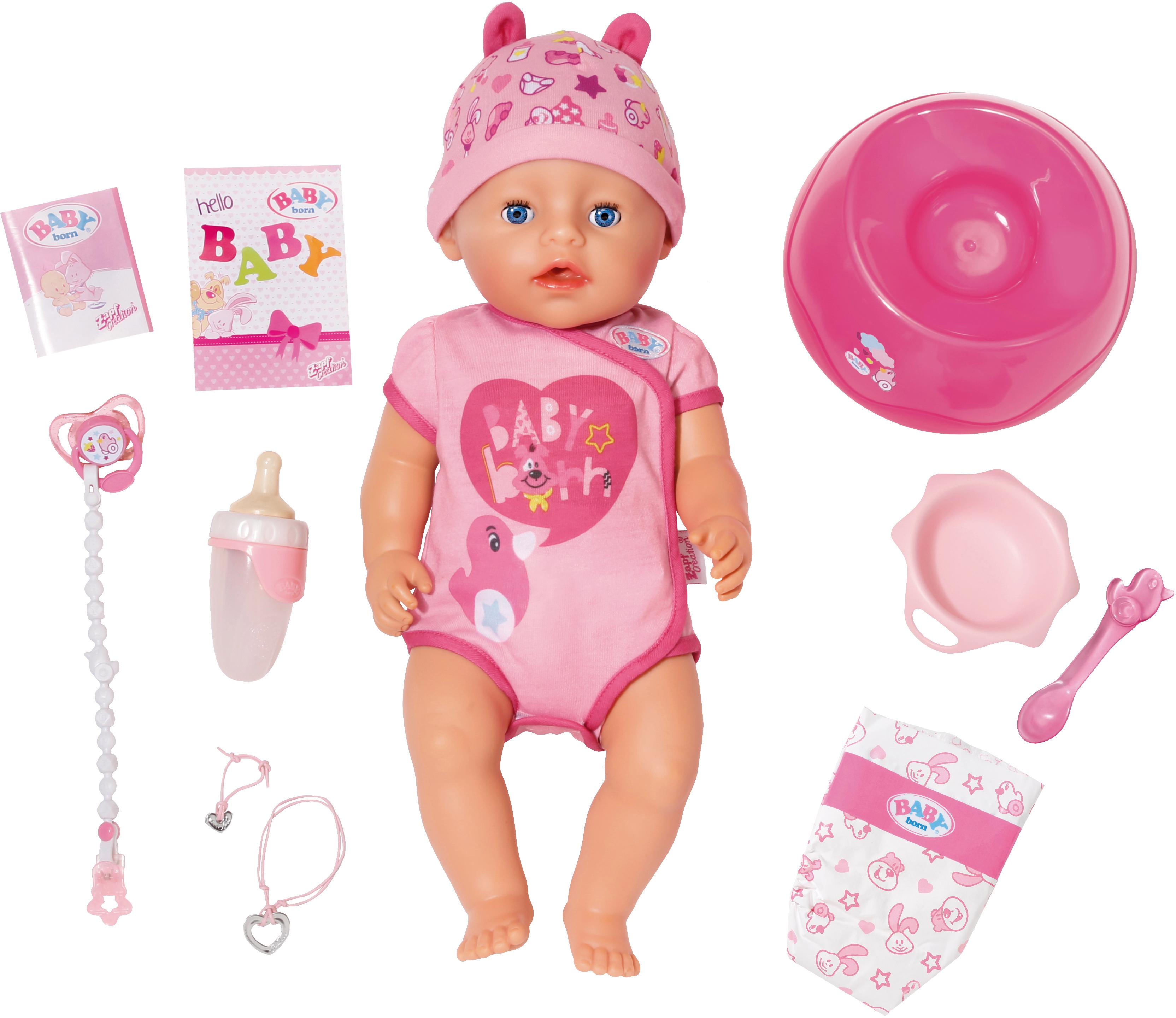 "Image of Baby Born Babypuppe ""BABY born® Soft Touch Girl"""