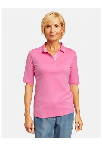 GERRY WEBER Poloshirt »Poloshirt aus Pima Cotton« kaufen