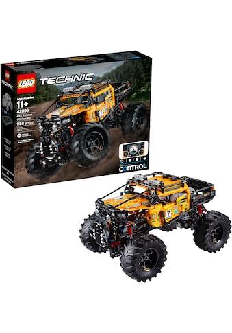 """LEGO® Konstruktionsspielsteine """"Allrad Xtreme - Geländewagen (42099), LEGO® Technic"""", Kunststoff, (958 - tlg.) kaufen"""