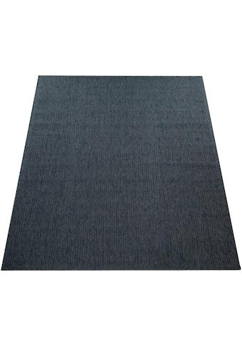 Paco Home Teppich »Timber 125«, rechteckig, 7 mm Höhe, In- und Outdoor geeignet, Wohnzimmer kaufen