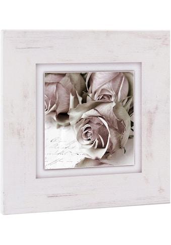 Home affaire Holzbild »Rosen«, 40/40 cm kaufen