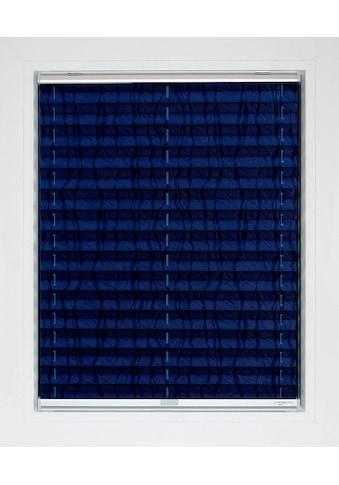 sunlines Plissee nach Mass »Blue Line«, Lichtschutz, energiesparend, mit Bohren, verspannt, Streifen-Muster kaufen