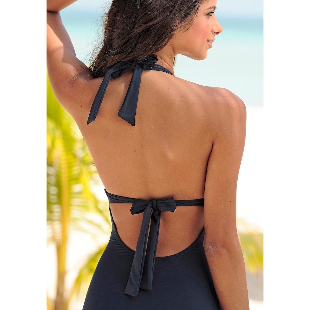 s.Oliver Beachwear Badeanzug, mit Accessoires