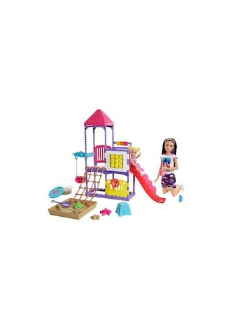 Barbie Spielfigur »Babysitter Spielplatz«, (Set) kaufen