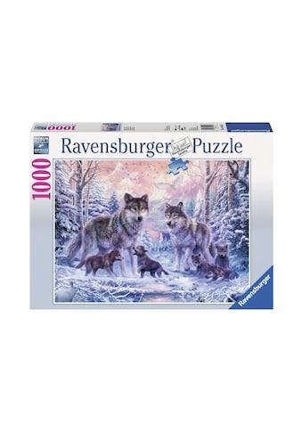 Ravensburger Puzzle »Arktische Wölfe« kaufen